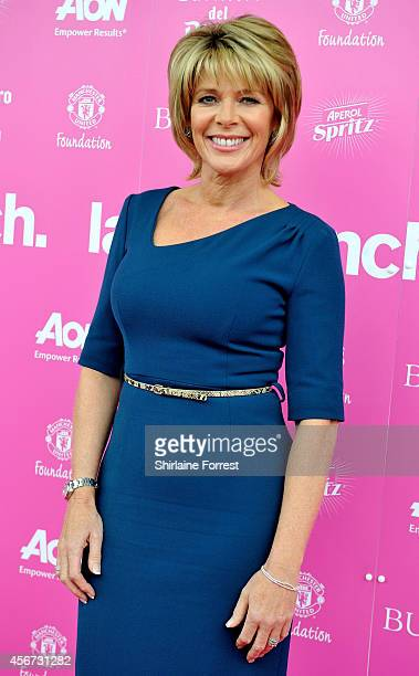 Ruth Langsford attends the Manchester United Foundation Ladies Lunch at Old Trafford on October 6 2014 in Manchester England
