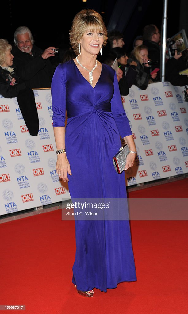 Ruth Langsford attends the National Television Awards at 02 Arena on January 23, 2013 in London, England.