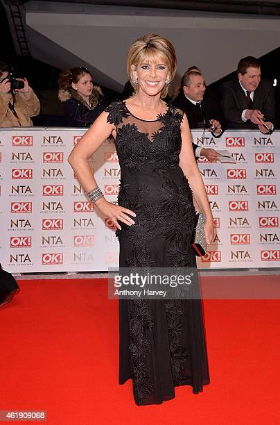 Ruth Langsford attends the National Television Awards at 02 Arena on January 21 2015 in London England