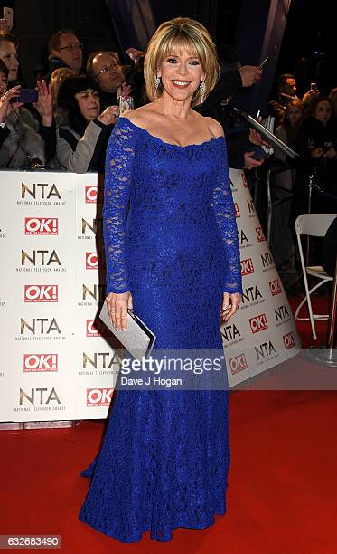 Ruth Langsford attends the National Television Awards at Cineworld 02 Arena on January 25 2017 in London England