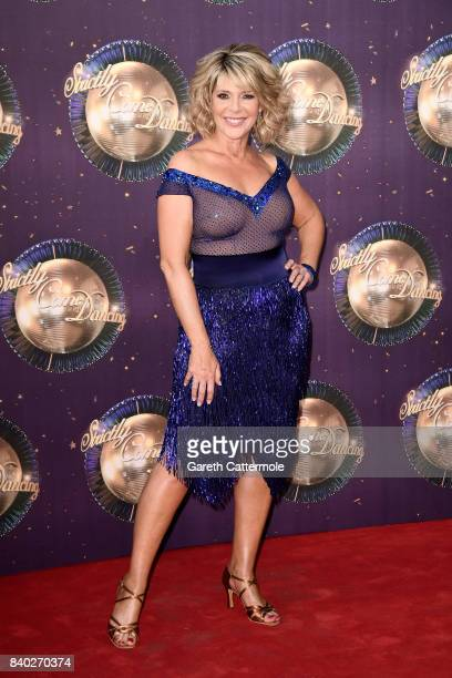 Ruth Langsford attends the 'Strictly Come Dancing 2017' red carpet launch at The Piazza on August 28 2017 in London England