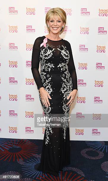 Ruth Langsford hosts the evening showw at Breast Cancer Care's London Fashion show at the Grosvenor House Hotel to launch Breast Cancer Awareness...