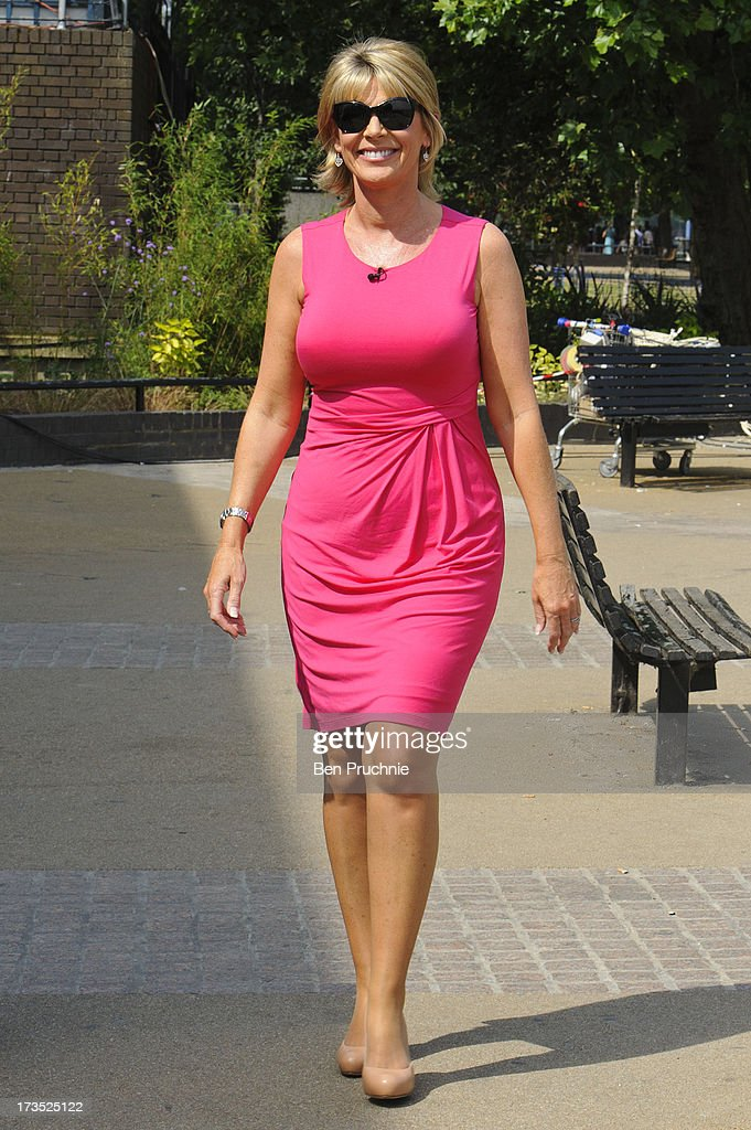 Ruth Langsford sighted on the Southbank on July 16, 2013 in London, England.