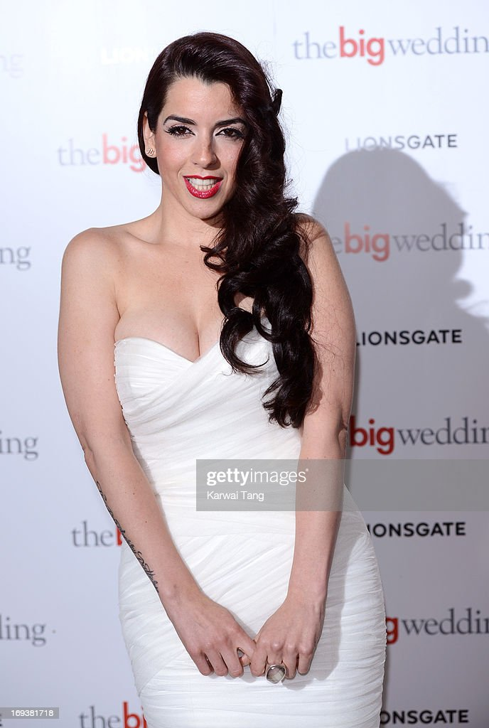 Ruth Lorenzo attends a special screening of 'The Big Wedding' at May Fair Hotel on May 23, 2013 in London, England.