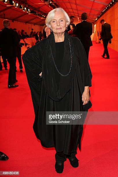 Ruth Maria Kubitschek during the Bambi Awards 2015 at Stage Theater on November 12 2015 in Berlin Germany