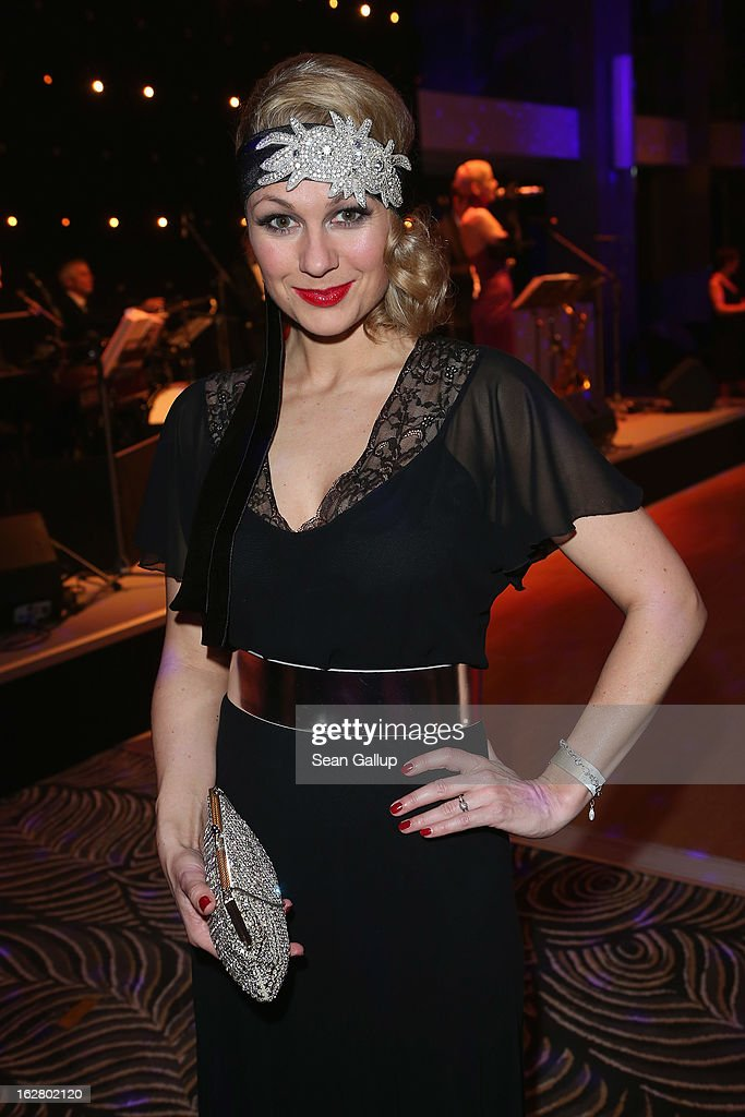 Ruth Moschner attends grand opening of the Waldorf Astoria Berlin hotel on February 27, 2013 in Berlin, Germany.