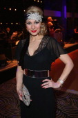 Ruth Moschner attends grand opening of the Waldorf Astoria Berlin hotel on February 27 2013 in Berlin Germany