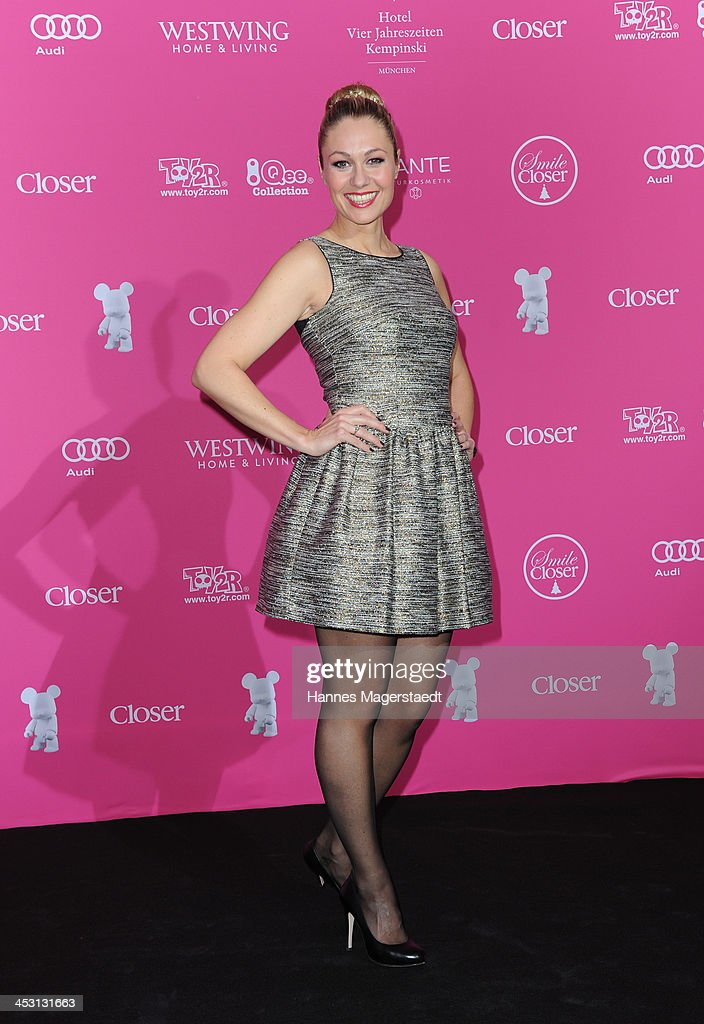 Ruth Moschner attends the Closer Charity Event SMILE at Hotel Vier Jahreszeiten on December 2, 2013 in Munich, Germany.