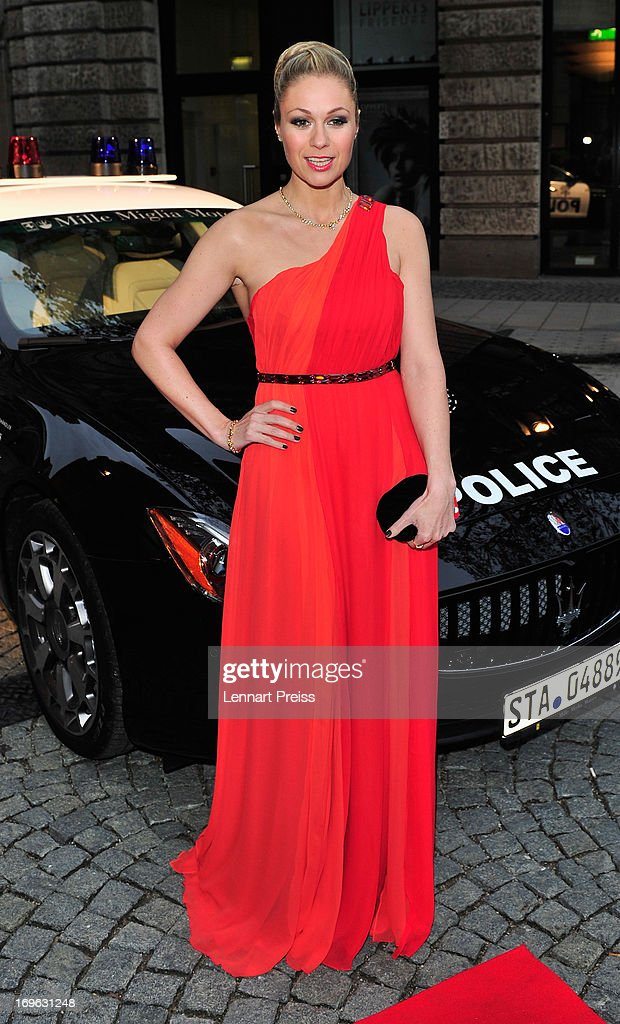 Ruth Moschner attends the Dressvegas Party at Heart Private Club on May 29, 2013 in Munich, Germany.