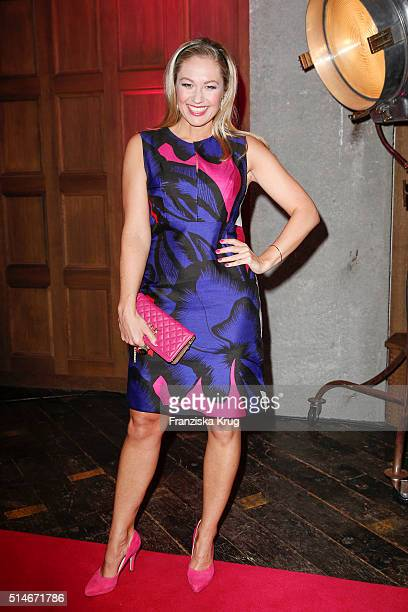 Ruth Moschner attends the JT Touristik Celebrates ITB Party on March 10 2016 in Berlin Germany