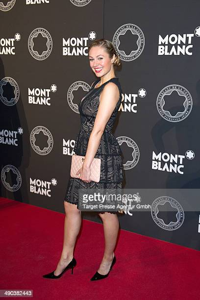Ruth Moschner attends the Montblanc De La Culture Arts Patronage Award 2014 at Hotel De Rome on May 14 2014 in Berlin Germany