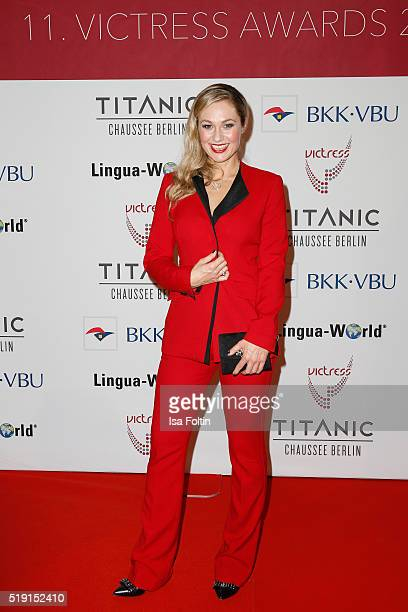 Ruth Moschner attends the Victress Awards Gala on 2016 in Berlin Germany