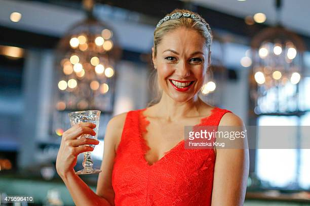 Ruth Moschner attends the Wanawake Ladies Dinner at Hotel Zoo on July 05 2015 in Berlin Germany