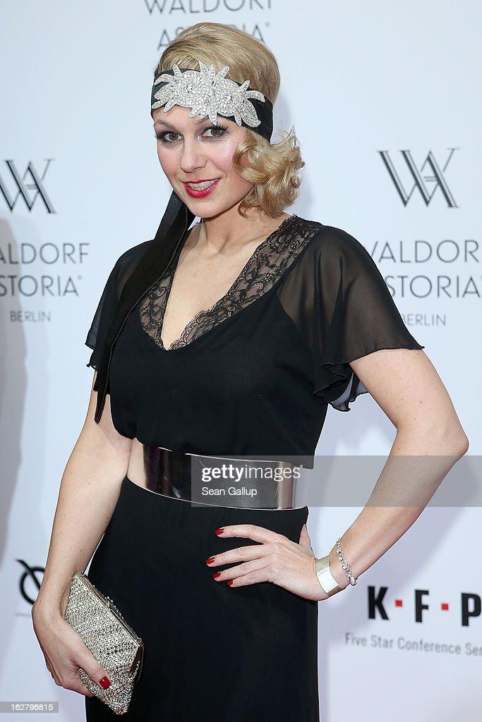 Ruth Moschner attends 'Waldorf Astoria Berlin Grand Opening' at Waldorf Astoria Berlin on February 27, 2013 in Berlin, Germany.