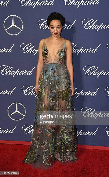 Ruth Negga arrives at the 28th Annual Palm Springs International Film Festival Film Awards Gala at Palm Springs Convention Center on January 2 2017...