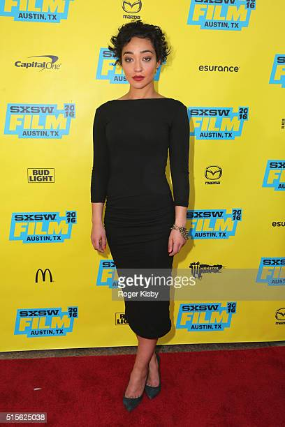 Ruth Negga attends an autograph signing panel and screening of AMC's new series 'Preacher' at SXSW on March 14 2016 in Austin Texas