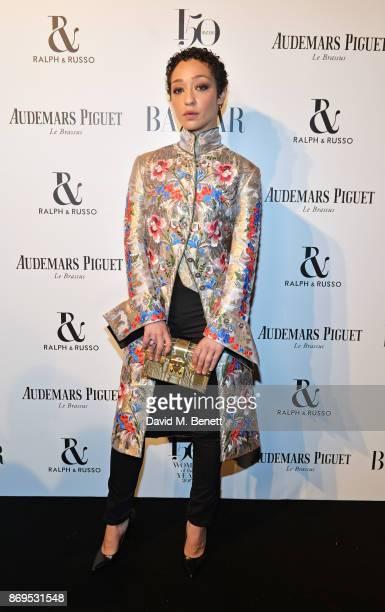 Ruth Negga attends Harper's Bazaar Women of the Year Awards in association with Ralph Russo Audemars Piguet and MercedesBenz at Claridge's Hotel on...