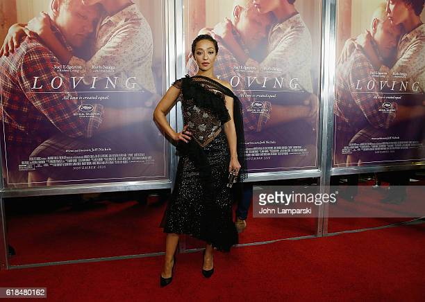 Ruth Negga attends 'Loving' New York Premiere at Landmark Sunshine Theater on October 26 2016 in New York City