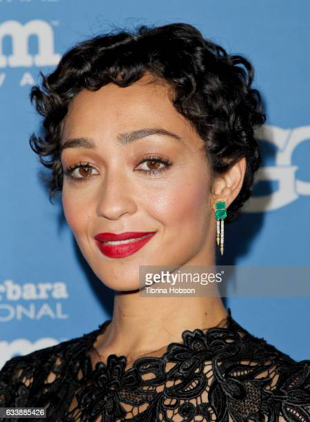 Ruth Negga attends the 32nd Santa Barbara International Film Festival Virtuosos Tribute at Arlington Theater on February 4 2017 in Santa Barbara...