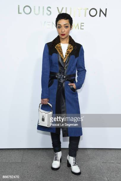 Ruth Negga attends the Opening Of The Louis Vuitton Boutique as part of the Paris Fashion Week Womenswear Spring/Summer 2018 on October 2 2017 in...