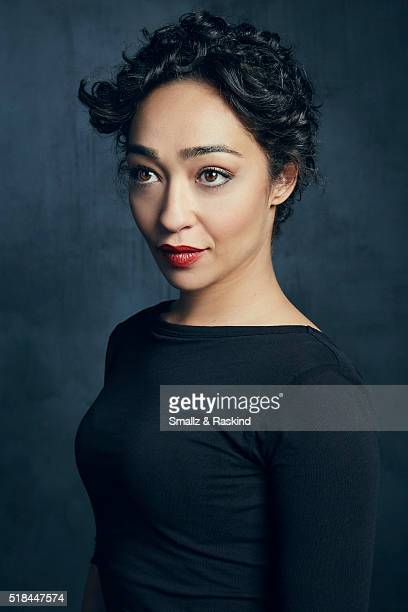 Ruth Negga poses for a portrait in the Getty Images SXSW Portrait Studio Powered By Samsung on March 13 2016 in Austin Texas