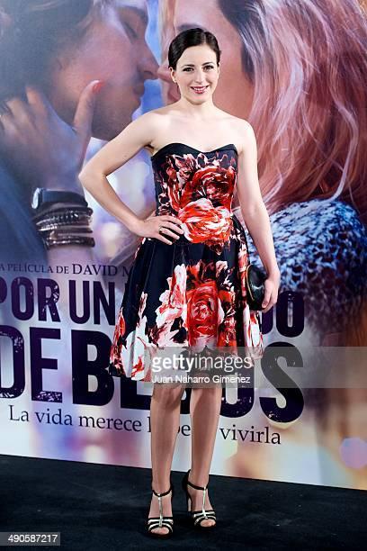 Ruth Nunez attends 'Por Un Punado De Besos' premiere at Callao Cinema on May 14 2014 in Madrid Spain