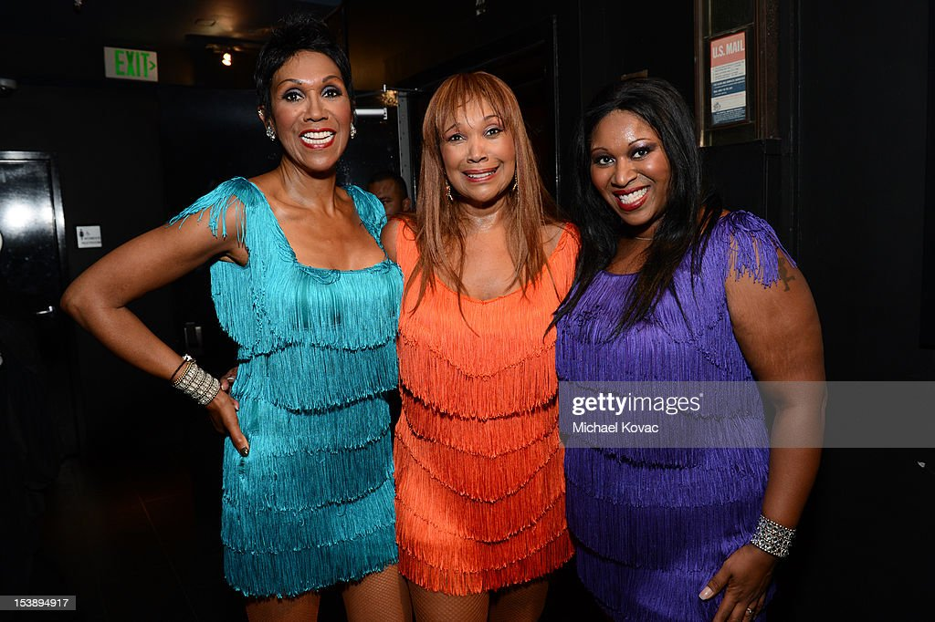Ruth Pointer Anita Pointer and Issa Pointer of The Pointer Sisters attend City Of Hope Honors Halston CEO Ben Malka With Spirit Of Life Award at...