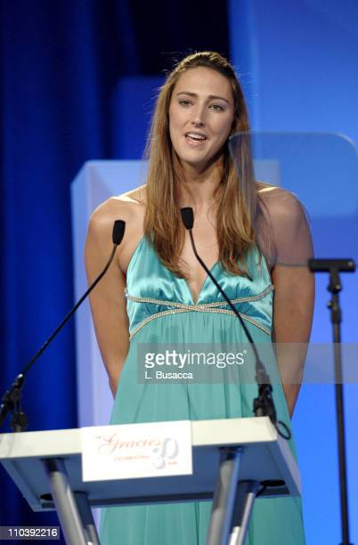Ruth Riley during American Women in Radio Television 30th Annual Gracie Allen Awards Show at New York Marriot Marquis Hotel in New York City New York...