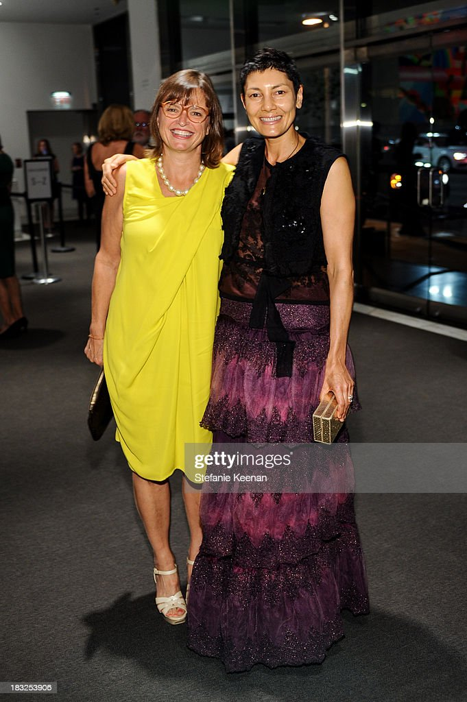 Ruth True and Alisa Ratner attend Hammer Museum 11th Annual Gala In The Garden With Generous Support From Bottega Veneta, October 5, 2013, Los Angeles, CA at Hammer Museum on October 5, 2013 in Westwood, California.