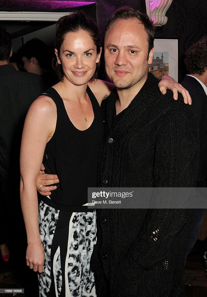<a gi-track='captionPersonalityLinkClicked' href=/galleries/search?phrase=Ruth+Wilson&family=editorial&specificpeople=3111655 ng-click='$event.stopPropagation()'>Ruth Wilson</a> (L) and Nicholas Kirkwood attend the annual fundraising art auction in aid of Teenage Cancer Trust at The Groucho Club on May 15, 2013 in London, England.