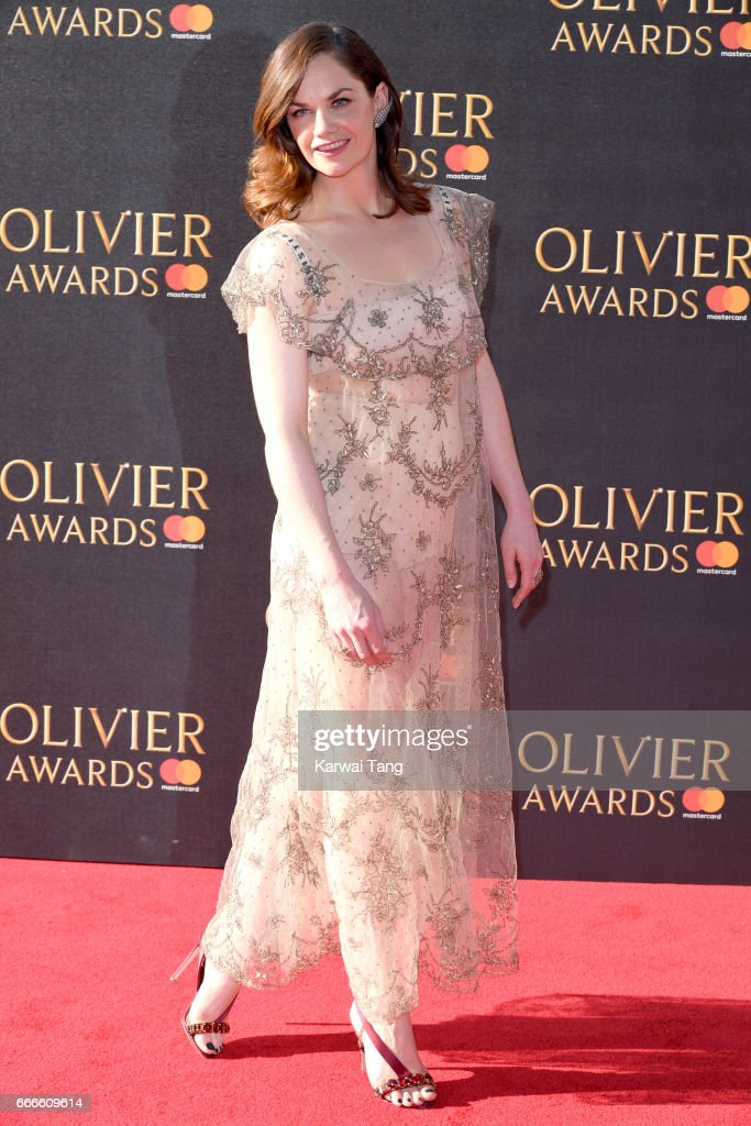 Ruth Wilson arrives for The Olivier Awards 2017 at the Royal Albert Hall on April 9, 2017 in London, England.