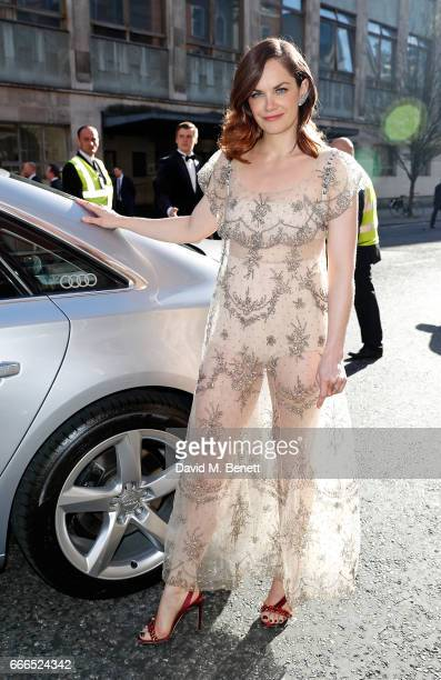 Ruth Wilson arrives in an Audi at the Olivier Awards at Royal Albert Hall on April 9 2017 in London England