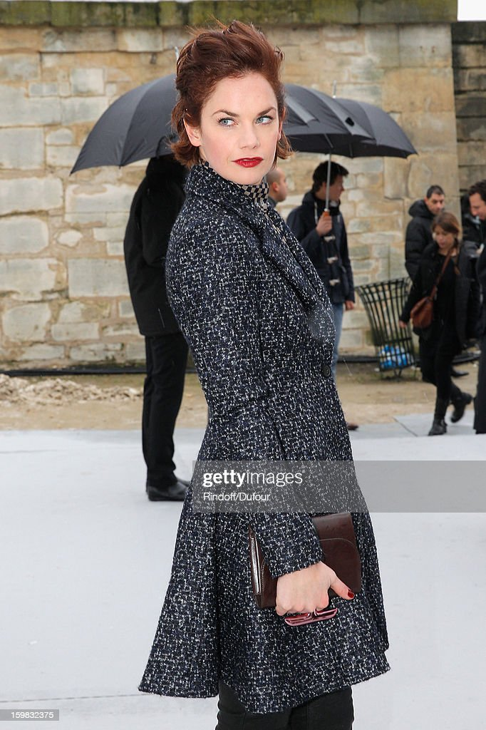 Ruth Wilson arrives to attend the Christian Dior Spring/Summer 2013 Haute-Couture show as part of Paris Fashion Week at on January 21, 2013 in Paris, France.