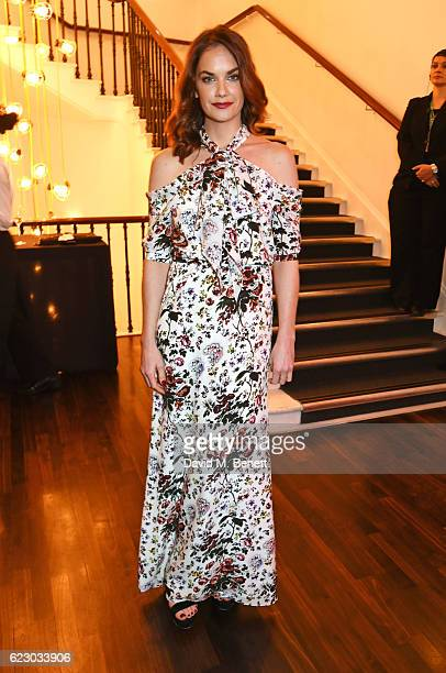 Ruth Wilson attends a cocktail reception at The 62nd London Evening Standard Theatre Awards recognising excellence from across the world of theatre...