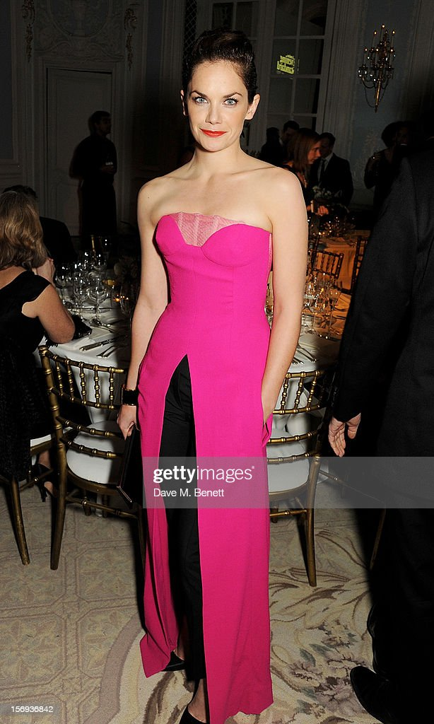 Ruth Wilson attends a drinks reception at the 58th London Evening Standard Theatre Awards in association with Burberry at The Savoy Hotel on November 25, 2012 in London, England.