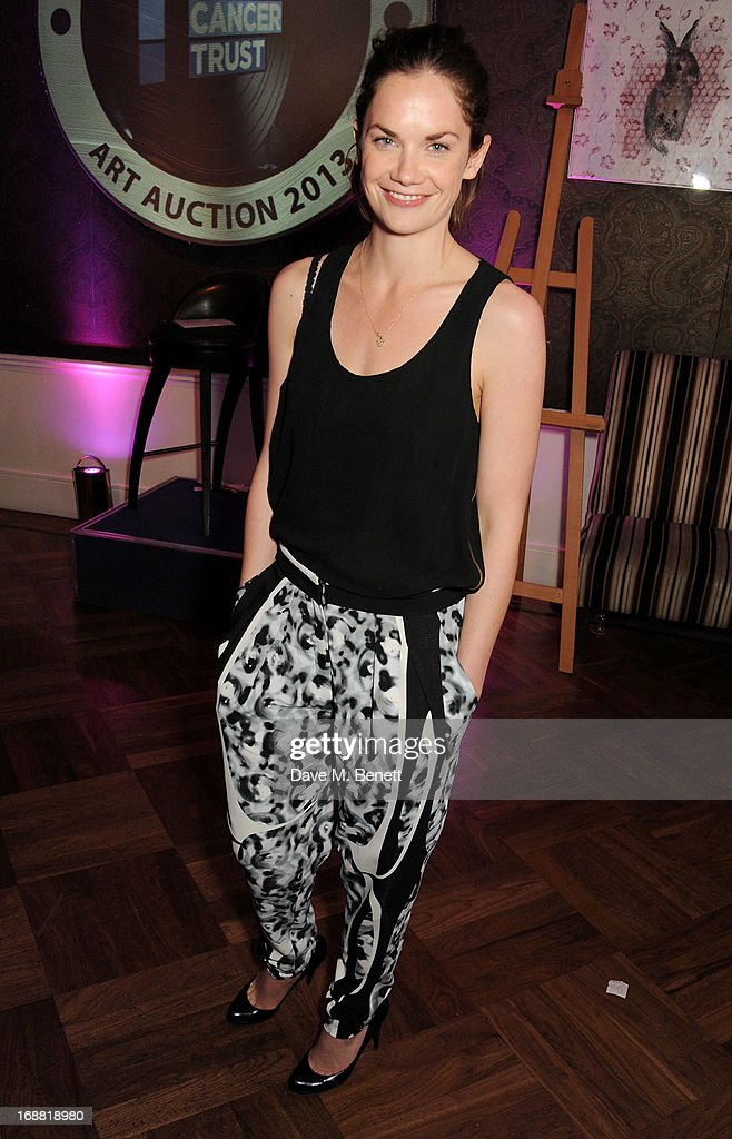 Ruth Wilson attends the annual fundraising art auction in aid of Teenage Cancer Trust at The Groucho Club on May 15, 2013 in London, England.