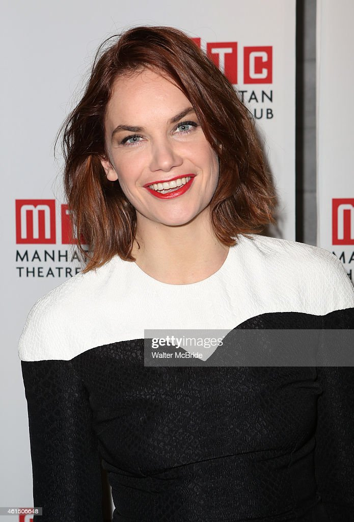 Ruth Wilson attends the Broadway Opening Night Performance Curtain Call for The Manhattan Theatre Club's production of 'Constellations' at the Samuel...
