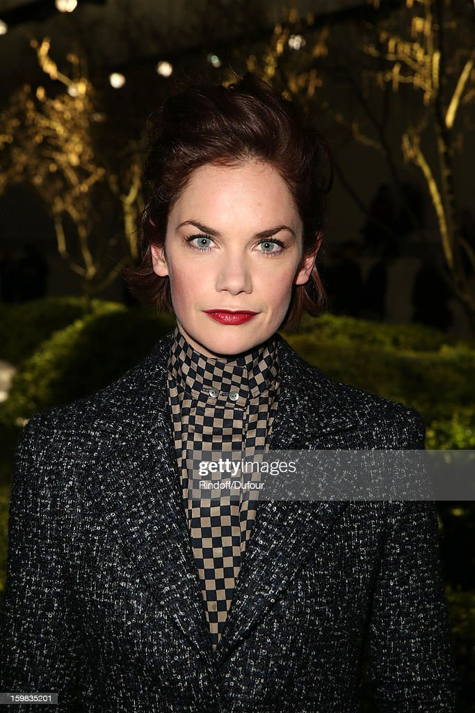 Ruth Wilson attends the Christian Dior Spring/Summer 2013 Haute-Couture show as part of Paris Fashion Week at on January 21, 2013 in Paris, France.
