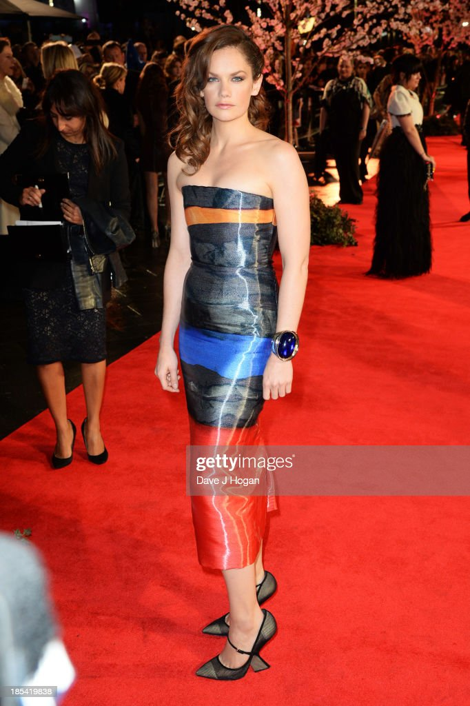 <a gi-track='captionPersonalityLinkClicked' href=/galleries/search?phrase=Ruth+Wilson&family=editorial&specificpeople=3111655 ng-click='$event.stopPropagation()'>Ruth Wilson</a> attends the Closing Night Gala European Premiere of 'Saving Mr Banks' on the closing night gala during the 57th BFI London Film Festival at The Odeon Leicester Square on October 20, 2013 in London, England.