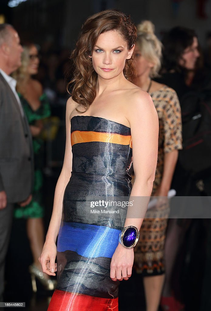 Ruth Wilson attends the Closing Night Gala European Premiere of 'Saving Mr Banks' during the 57th BFI London Film Festival at Odeon Leicester Square on October 20, 2013 in London, England.