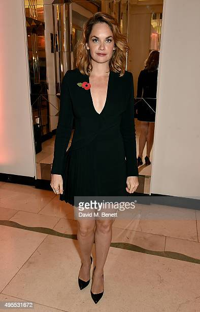 Ruth Wilson attends the Harper's Bazaar Women of the Year Awards 2015 at Claridges Hotel on November 3 2015 in London England