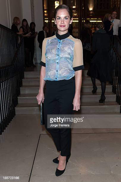 Ruth Wilson attends the launch of the Evening Standard 1000 Most Influential Londoners in asociation with Burberry at the Burberry Regent Street...