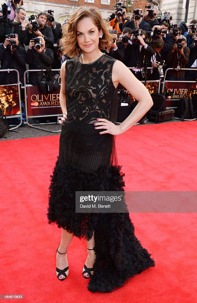 <a gi-track='captionPersonalityLinkClicked' href=/galleries/search?phrase=Ruth+Wilson&family=editorial&specificpeople=3111655 ng-click='$event.stopPropagation()'>Ruth Wilson</a> attends the Laurence Olivier Awards at The Royal Opera House on April 13, 2014 in London, England.