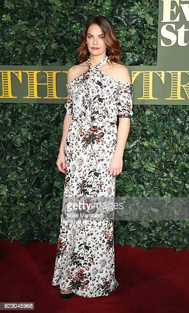 Ruth Wilson attends The London Evening Standard Theatre Awards at The Old Vic Theatre on November 13 2016 in London England