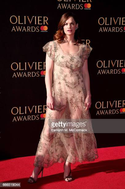 Ruth Wilson attends The Olivier Awards 2017 at Royal Albert Hall on April 9 2017 in London England