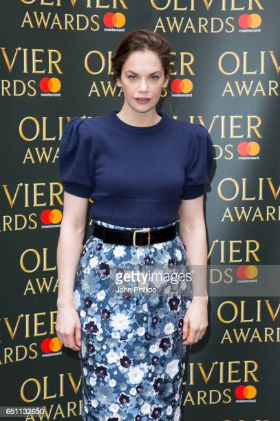 Ruth Wilson attends the Olivier Awards nominations celebration on March 10 2017 in London United Kingdom