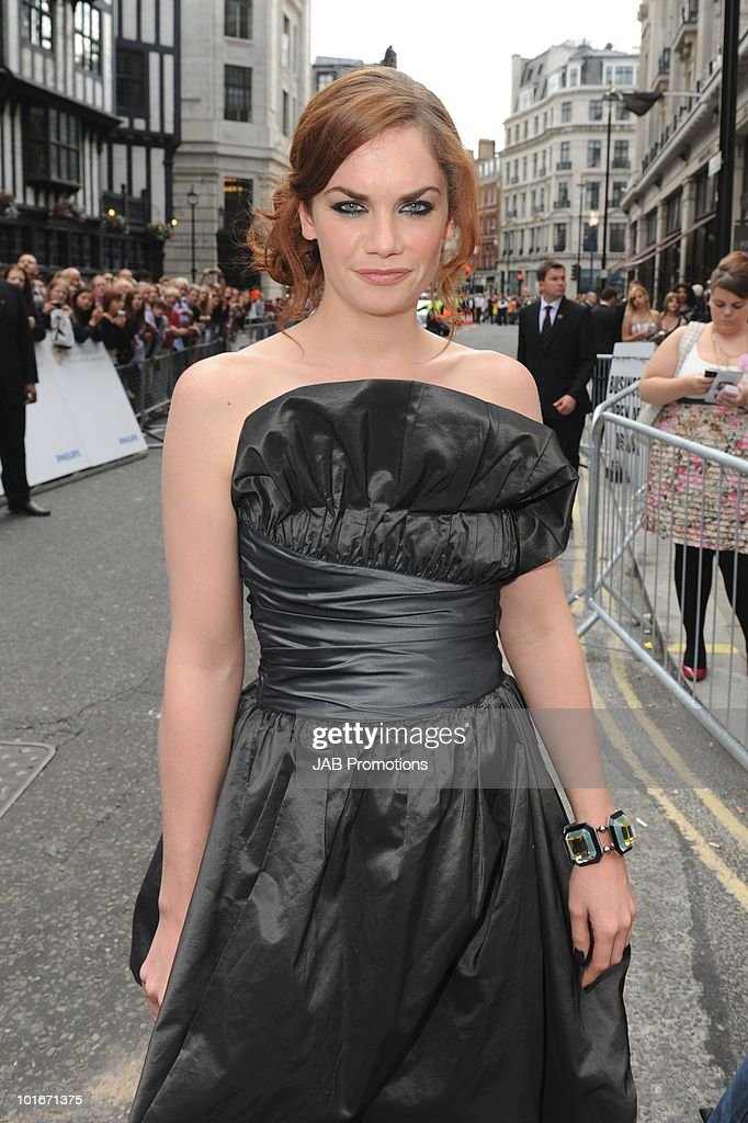 Ruth Wilson attends the Philips British Academy Television awards (BAFTA) at London Palladium on June 6, 2010 in London, England.