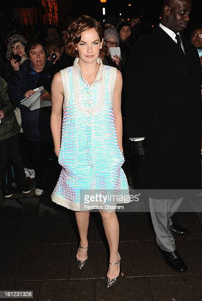 Ruth Wilson attends the preBAFTA dinner hosted by Charles Finch and Chanel at Annabels on February 9 2013 in London England