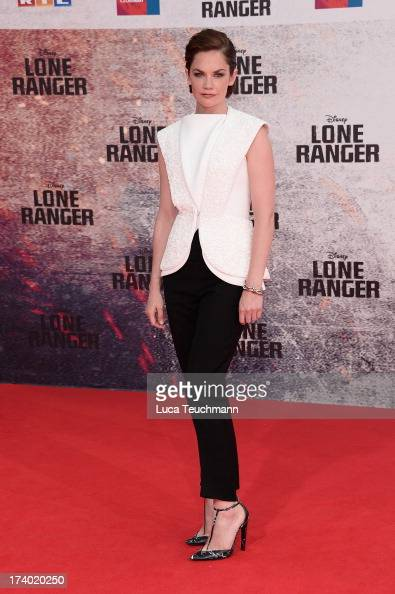 Ruth Wilson attends the premiere of 'Lone Ranger' at Sony Centre on July 19 2013 in Berlin Germany