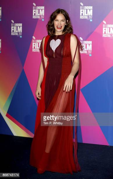 Ruth Wilson attends the Special Presentation European Premiere of 'Dark River' during the 61st BFI London Film Festival on October 7 2017 in London...